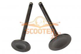 Клапаны (компл. 2шт) для скутера с двигателем 4T 157QMJ 150сс стандартные d=24/28