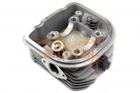 Головка цилиндра для скутера с двигателем 4T 158QMJ Stels/Keeway 150cc d-57, 4 в сборе с клапанами