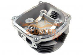 Головка цилиндра для скутера с двигателем 4T 157QMJ 150cc d-57, 4 в сборе с клапанами