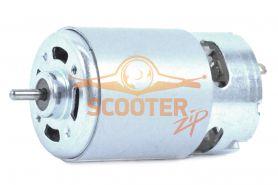 Двигатель 18В Интерскол, BOSCH без шестерни вал d=3мм D=57мм (c 4-мя проточками)