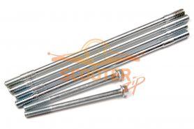 Шпильки цилиндра (компл. 6шт) для скутера с двигателем 4T 139QMB 50сс