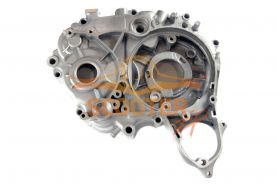 Картер двигателя левый для мопеда с двигателем 4T 139FMB (мопед) 50сс (верхний эл.стартер)