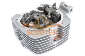 Головка цилиндра двиг. CG150 d-62mm в сборе с клапанами  SM-PARTS