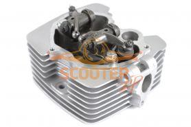 Головка цилиндра двиг. CG250 d-67mm в сборе с клапанами  SM-PARTS