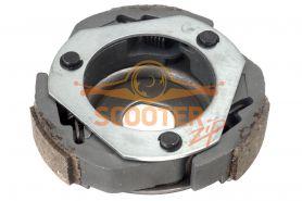 Плата сцепления с колодками для скутера с двигателем 4T 152QMI, 157QMJ 125-150cc