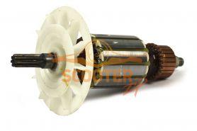 Ротор (Якорь) ИНТЕРСКОЛ для дрели Д-1050Р (Д-16/1050Р) (до 2007 г.) (L-157 мм, D-41 мм, 7 зубов, прямо)