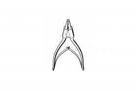℗ Клещи DIN5254-А10 монт/дем. ст. кол. (разж.) TS-400, 420, 760