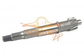 Вал редуктора первичный для скутера с двигателем 4T 152QMI, 157QMJ 125/150сс