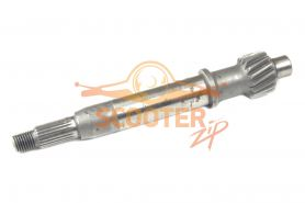 Вал редуктора первичный для скутера с двигателем 4T 139QMB 50сс