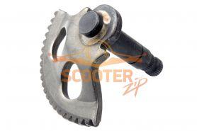 Зубчатый сектор кикстартера для скутера Yamaha / 1E40QMB (75mm) (Тайвань)