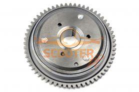 Обгонная муфта для скутера с двигателем 4T 152QMI, 157QMJ 125-150cc