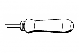 ℗ Монтаж. трубка пружины тормоза