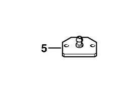 ℗ Фланец испыт. ms-280, FS-130, BR-500 (вх. в 00008901701)