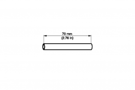 ℗ Втулка фланца цилиндра ms-290, 390, 880 70мм (вх. в 00008901701)