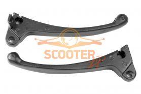 Рычаги тормоза (компл. 2шт) для скутера Honda Dio/Tact передний барабанный тормоз