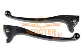Рычаги тормоза (компл. 2шт) для скутера QT-11/13 передний/задний дисковый тормоз