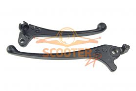 Рычаги тормоза (компл. 2шт) для скутера Honda Dio/Tact передний дисковый тормоз