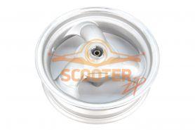 Диск колеса 12 x 3.50 передний дисковый тормоз (B08)  для китайского скутера