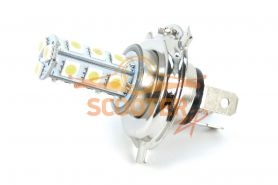 Лампа головного света светодиодная LED P43T H4-18