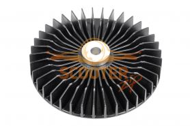 Крыльчатка ротора d-76мм MAKITA 4131/5017RKB, 5603R, 5703R, 5705R/ HM1100, 1130C/HR4000, 4001, 4010, 4011