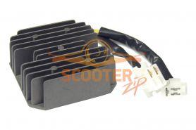 Регулятор напряжения для скутера с двигателем 4T 125-150сс 2 фишки 5 контактов
