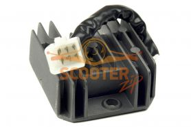 Регулятор напряжения для скутера с двигателем 4T 125-150сс 1 фишка 6 контактов