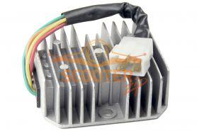 Регулятор напряжения для скутера с двигателем 4T 125-150сс 1 фишка 4 контакта