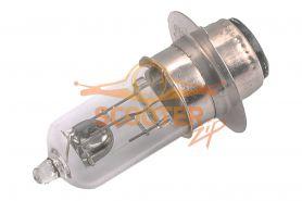Лампа фары галоген HQ c улучш. фокусом P15D-25-1 12V 35/35W прозрачная