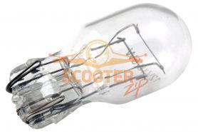 Лампа стоп сигнала T20 12V 21/5W без цоколя прозрачная