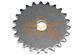 Шестерня привода масляного насоса для скутера с двигателем 4T 152QMI, 157QMJ 125/150сс