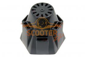 Фильтр нулевого сопротивления черн.крышка для скутера d-39 прямой
