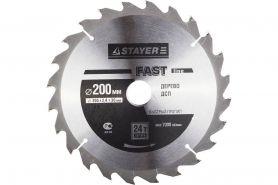 Диск пильный Stayer 200х2.4х30 мм, 24 зуба