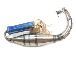 Глушитель спортивный (саксофон) для скутера Honda AF-18/24