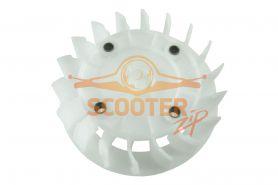 Вентилятор охлаждения для скутера с двигателем 4T 152QMI, 157QMJ 125/150сс