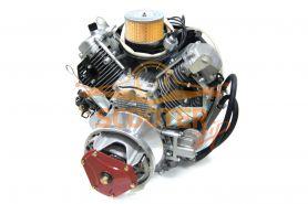 Двигатель снегохода Буран 27.0лс 720см3. 46кг (электростартер, полностью готовый к установке) LIFAN
