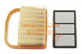 Фильтр воздушный STIHL TS 410, 420, 480i, 500i (основной + тонкой очистки)