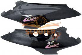 Боковые обтекатели (пара) для скутера Suzuki Let's II