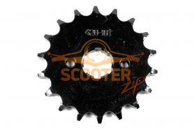 Звезда ведущая 428-18T для мотоцикла с двигателем 4T 157FMI, 163FML, 166FMM (CG, CB125-250)