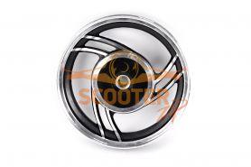 Диск колеса 10 x 2.15 задний барабанный тормоз (19 шлицов колодки d-110мм) для китайского скутера