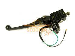 Тормозная машинка заднего тормоза для скутера IRBIS NIRVANA, VOLCAN левая (дисковый тормоз)