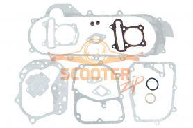 Прокладки комплект полный для скутера с двигателем 4T 139QMB 80сс d=50 (колесная база 12)