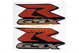 Наклейки (пара) (10х22) эмблемы R GSX