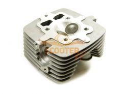 Головка цилиндра для мотоцикла с двигателем 4Т 163FMI (CG200) d-63, 5 (d=27/31)