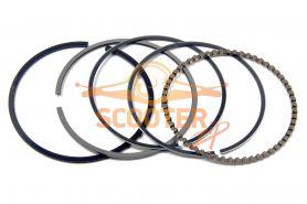 Кольца поршневые для мопеда с двигателем 4T 152FMH, 152FMI d-52, 4; DELTA, ALPHA, TTR125