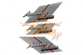 Наклейки (3шт) (10х25) Address V100
