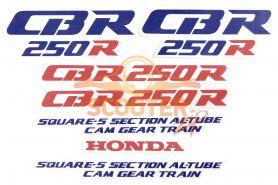 Наклейки набор (15х25) CBR250R
