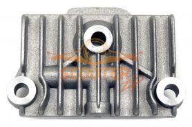 Крышка головки цилиндра для мопеда с двигателем 4T 139FMB, 147FMH, 152FMI (правая квадратная)