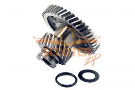 Шестерня привода кикстартера для мотоцикла с двигателем 4T 157FMI, 163FML (CG125-150)