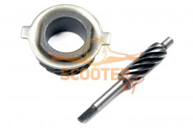 Шестерня привода спидометра  для мотоцикла CG125, PLUTON