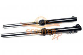 Амортизаторы передние (комплект) для мотоцикла IRBIS TTR110 (L=620mm, d33x33mm)